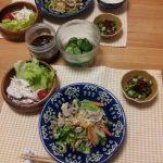 【野菜炒め】とヘルシーな【鶏ささみサラダ】鶏ささみの栄養は?