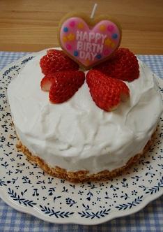 簡単!手作りケーキ