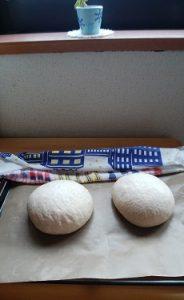 手作りパン(二次発酵後)