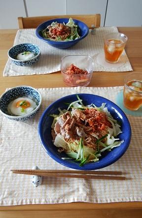ピリ辛そうめん(ビビン麺風)