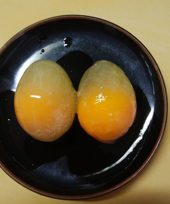 やばっ!卵が凍っちゃった~温泉卵、美味しくできちゃいました♪